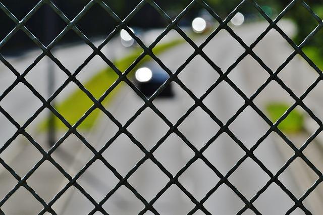 Grid, Bridge, Road, Fence, Roadway, Security