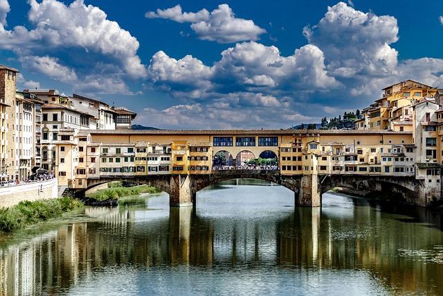 Roman, Bridge, Architecture, Houses, Overit, Fierenze