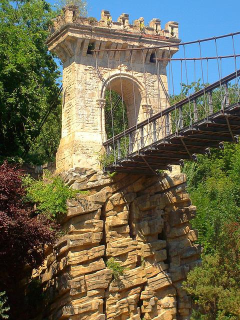 Bridge, Tower, Bridge Margin, Cliff, Craiova, Romania