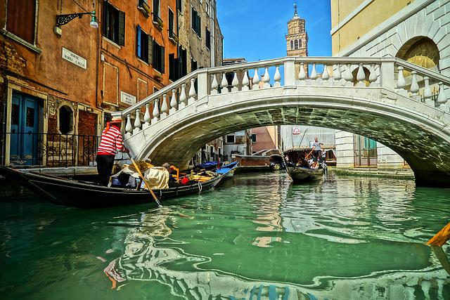 Venice, Italy, Bridge, Sea, Times, Travel
