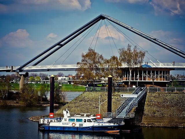 Port, Boot, Anchorage, Ship, Marina, Water, Bridge