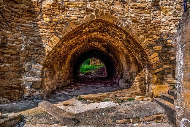 Cyprus, Tochni, Bridge, Architecture, Traditional