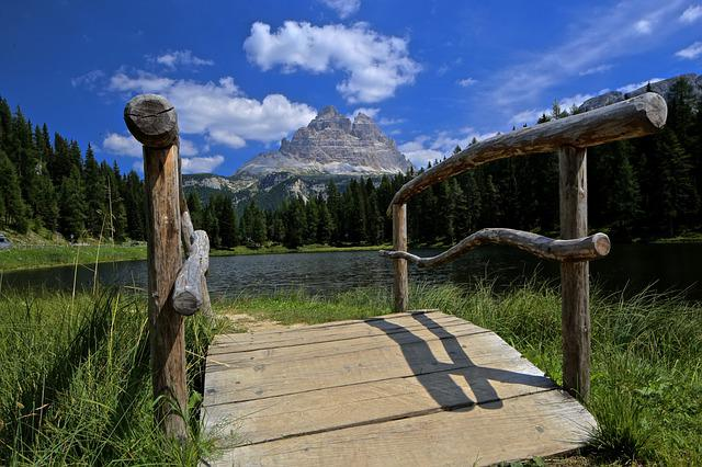 Bridge, South Tyrol, Dolomite, Tourism, Italian