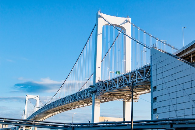 Rainbow Bridge, Tokyo, Bridge, Landmark, Travel