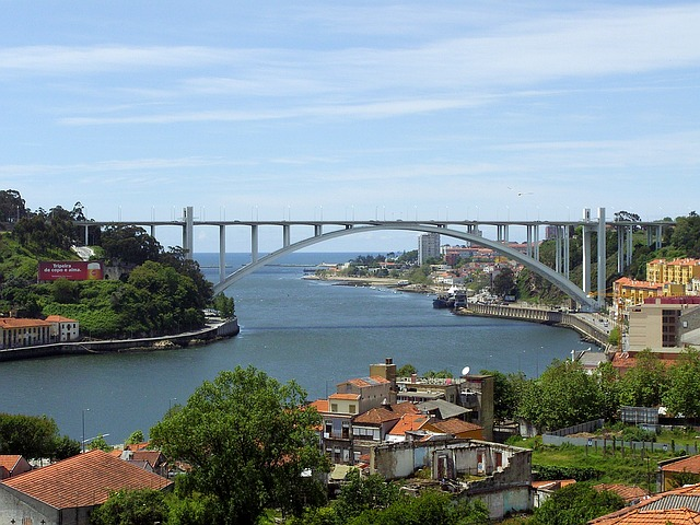 Porto, Portugal, Bridge, Tejo, Old Town, Tourism, View