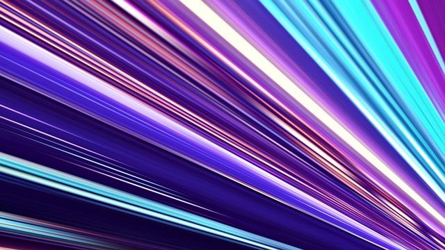 Free Photo Bright Abstract Futuristic Wallpaper Blur