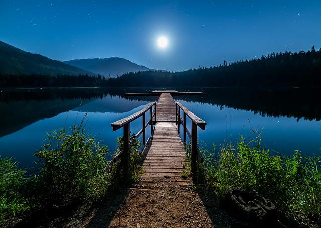 Astronomy, Beautiful, Blue, Bright, British Columbia