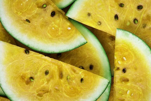 Healthy, Fruit, Food, Sweet, Slice, Background, Bright