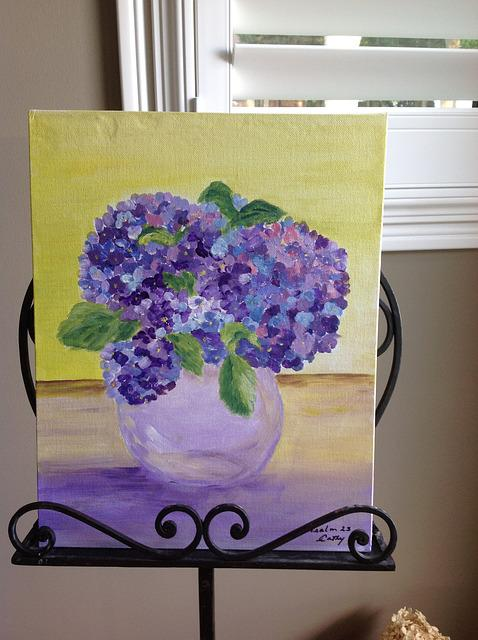 Bright, Purple, Lilacs, Picture