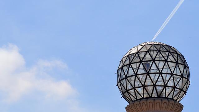 Sky, Outdoors, Sphere, Ball, Blue, Bright, Light