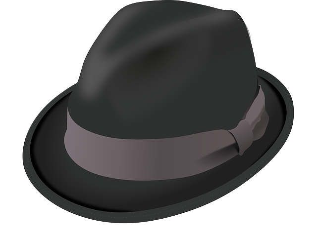 Hat, Trilby, Black, Brim, Crease, Felt, Pinch, Ribbon