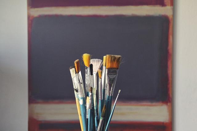 Brushes, Art, Paint, Tool, Decor, Bristles, Decoration
