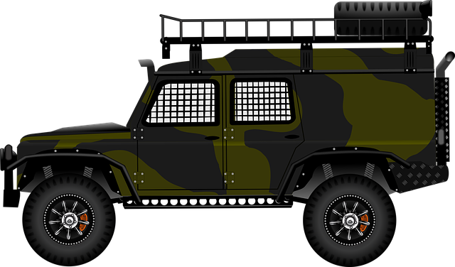 Army, Uk, Landrover, Military, British, Britain