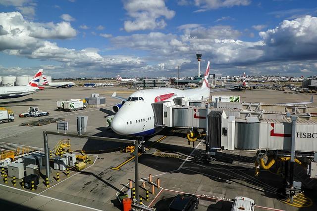 Travel, Transport System, Sky, Sea, British Airways