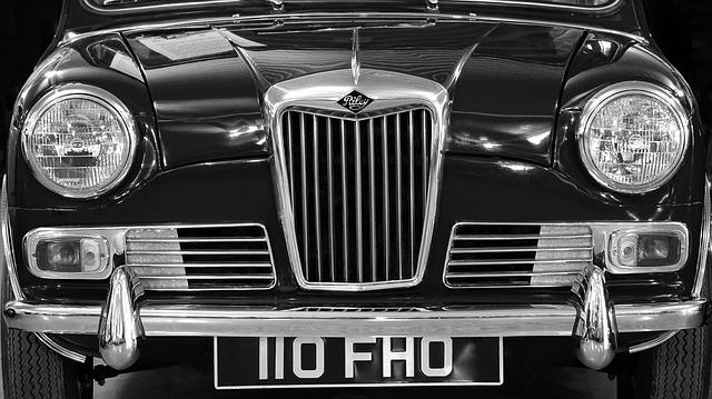 British Car, Classic, British, Car, Vintage, Vehicle