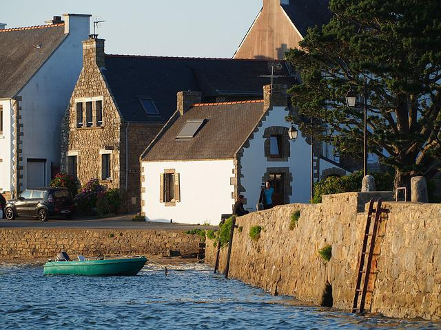 Brittany, Water, Port