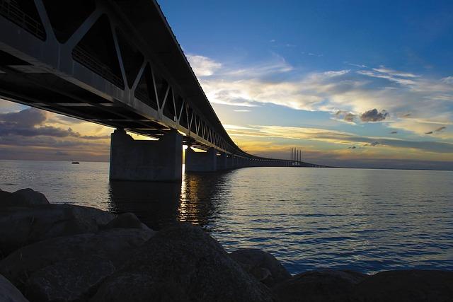 Bridge Bracket, The öresund Bridge, Bro, Malmö, Swedish