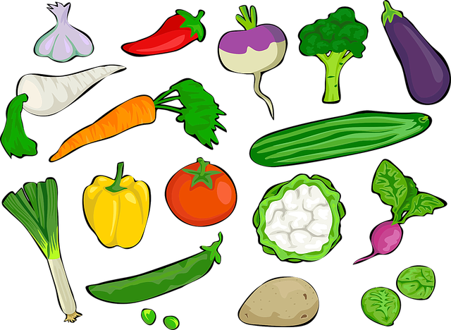 Bell Pepper, Broccoli, Brussels Sprouts, Carrot, Chile