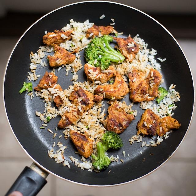 Broccoli, Chicken, Cooking, Cuisine, Delicious, Dinner
