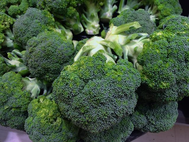 Broccoli, Green, Young And Vivacious, Vivid, Vegetables