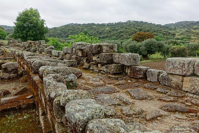 Stone Wall, Blocks, Broken, Ancient, Ruins