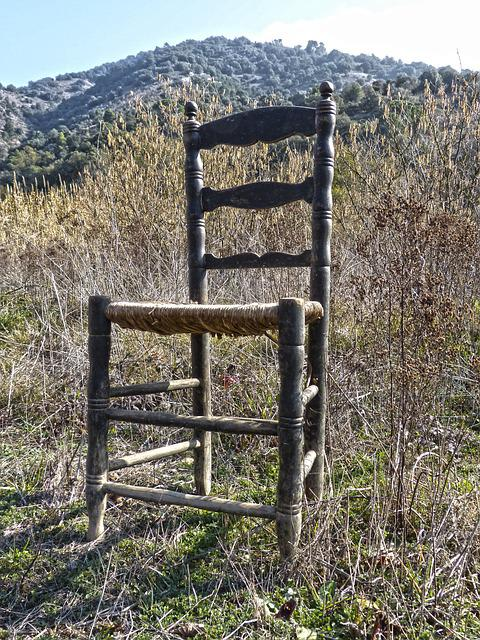 Old Chair, Abandoned, Wicker, Ramshackle, Broken