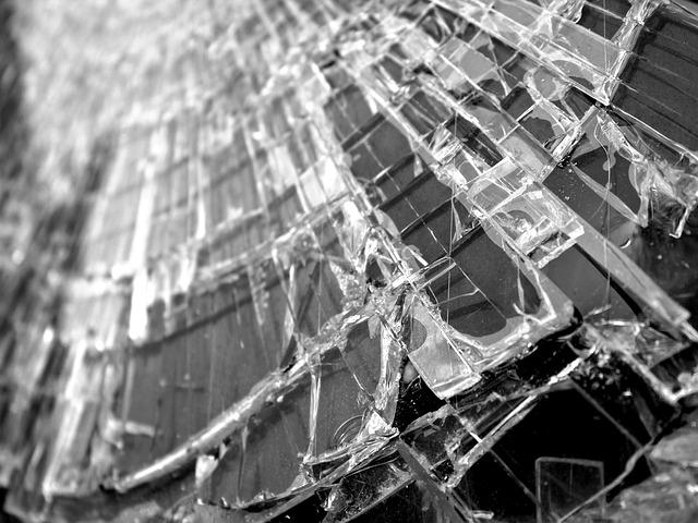 Glass, Window, Cracks, Shard, Broken, Glass Breakage