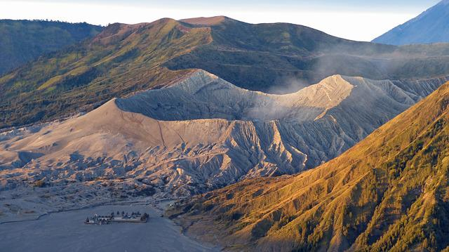 Indonesia, Java, Volcano, Bromo, Crater, Landscape