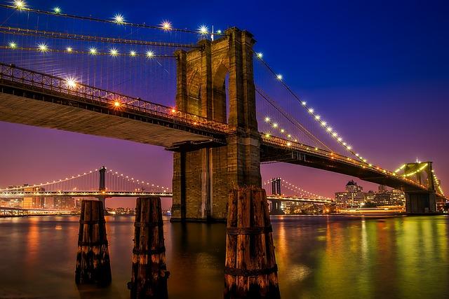 Brooklyn Bridge, Landmark, Historic, New York City