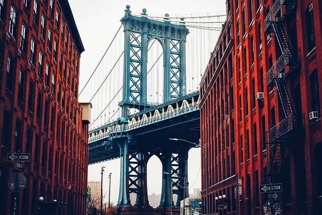 Brooklyn Bridge, New York City, Landmark, Historic