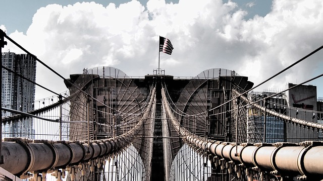 Brooklyn Bridge, New York, Places Of Interest, Landmark