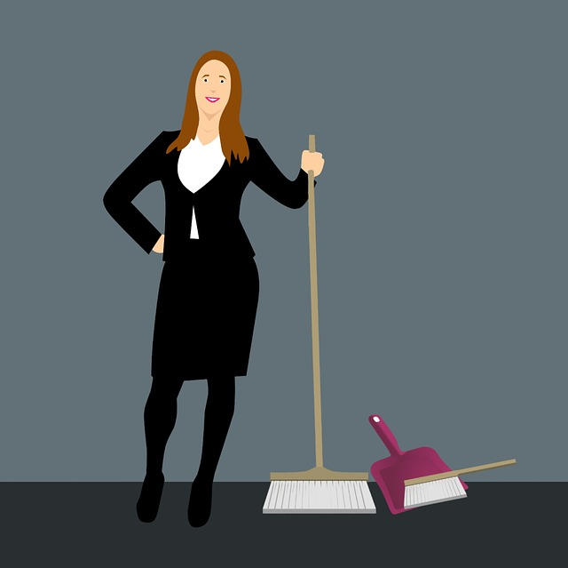 Cleaning Service, House Cleaning, Broom, Hand Brush