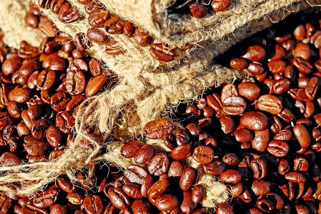 Coffee, Coffee Beans, Caffeine, Roasting, Aroma, Brown