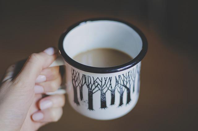 Coffee, Cup, Drink, Hand, Macro, Mug, Brown Coffee