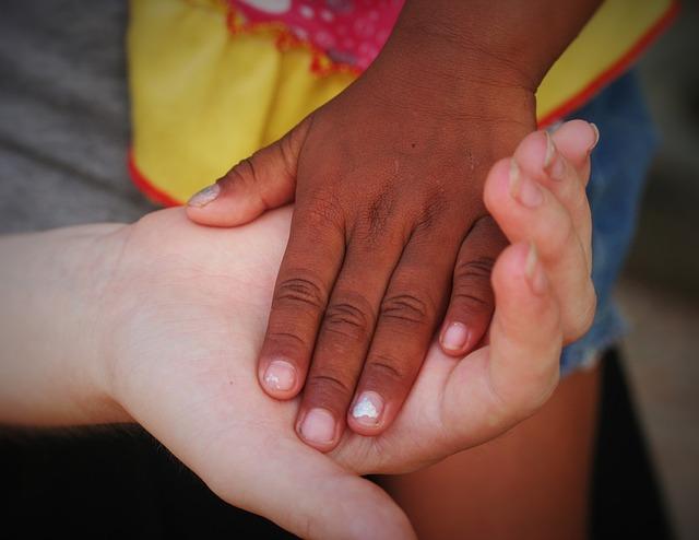 Black, Brown, Cambodia, Girls, Hands, Love, Trust