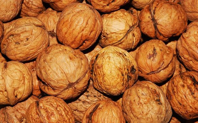 Walnut, Walnuts, Nuts, Brown, Nut, Healthy, Natural