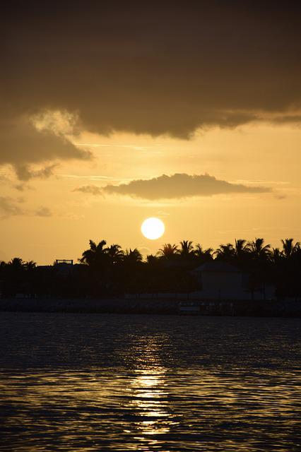 Sol, Beach, Sunset, Landscape, Water, Nature, Browse
