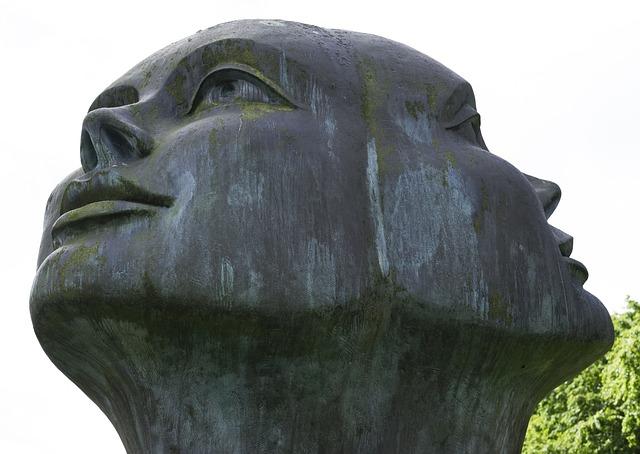 Both Sides, Sculpture, Art, Church, Belgium, Bruges