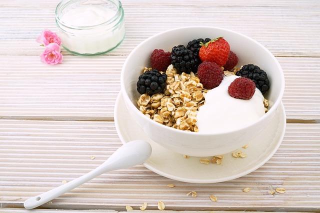 Berries, Berry, Blackberries, Bowl, Breakfast, Brunch