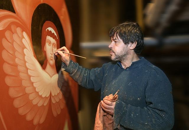 Painter, Artist, Painting, Palette, Master, Brush