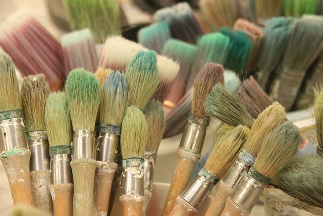 Painting, Brush, Artistic, Workshop