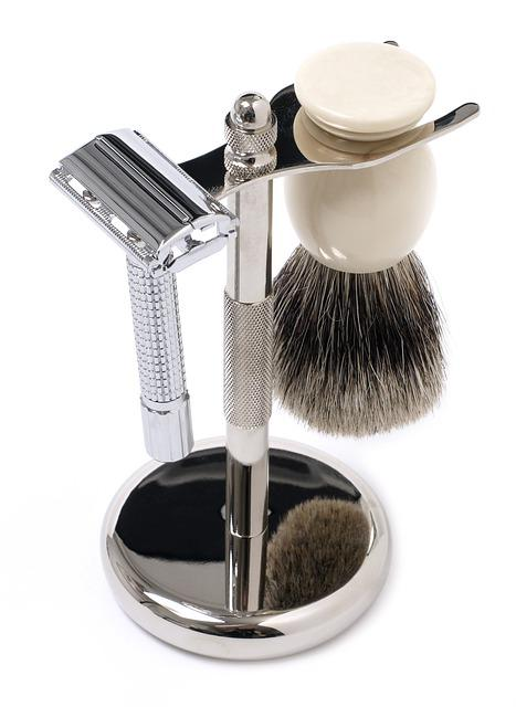 Shaving Set, Shaving Brush, Razor, Barber, Brush