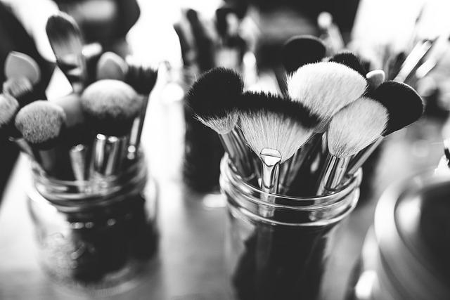 Brushes, Depth Of Field, Make-up Brushes, Set
