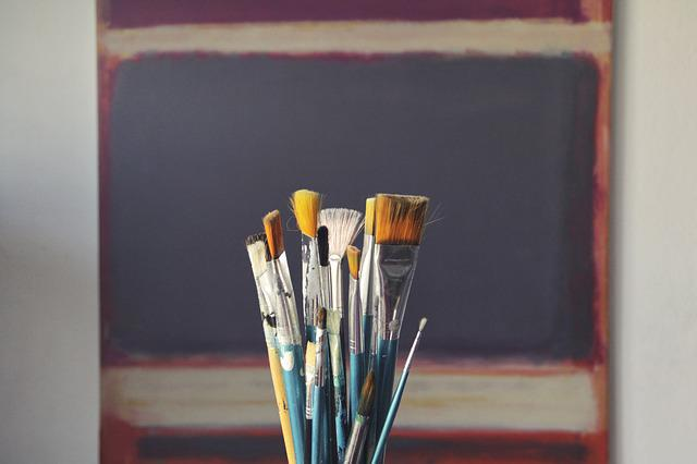 Brushes, Art, Paint, Tool, Decor, Bristles, Decoration