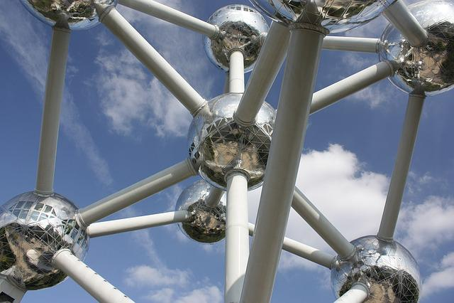 Brussels, Monument, Belgium, Atomium