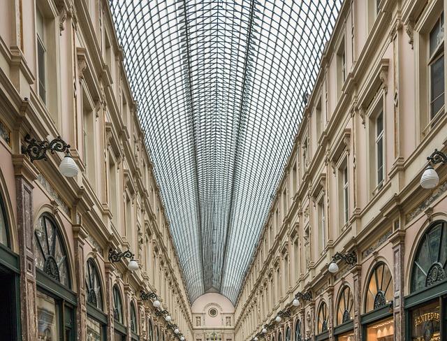 Les Galeries, Royales Saint-hubert, Brussels