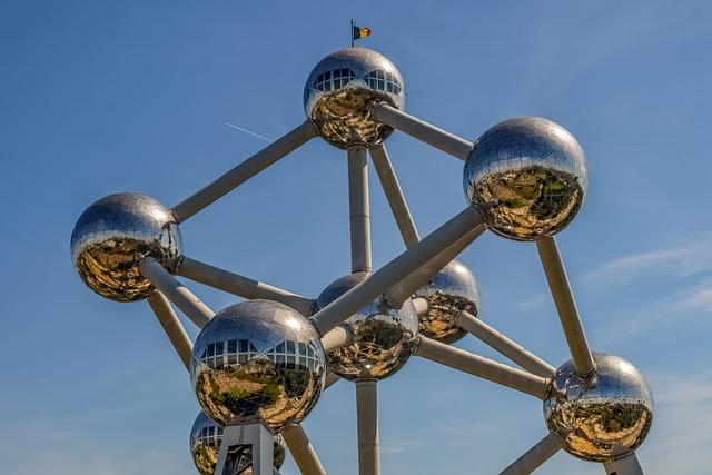 Atomium, Brussels, Travel, Landmark, Building