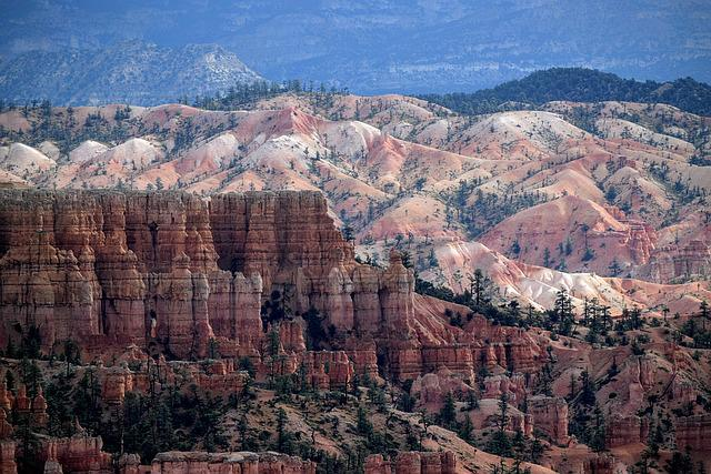 Bryce, Canyon, National, Parks, Hoodoos, Utah