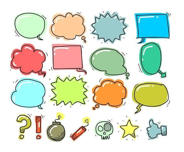 Set, Collection, Balloon, Image, Element, Bubble