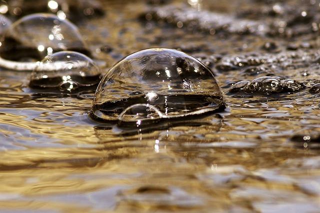 Bubbles, Bubble, Water, Macro, Drop, Circle, Liquid